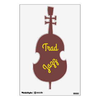 Trad Jazz Wall Sticker