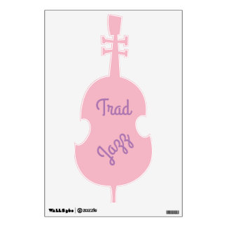 Trad Jazz Wall Sticker