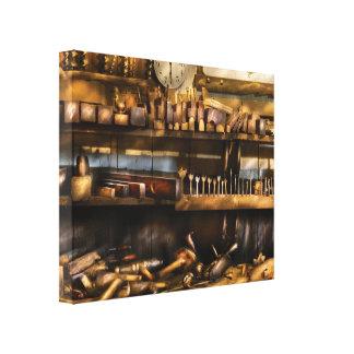 Trade - Carpenter - Planes & Augers Canvas Print