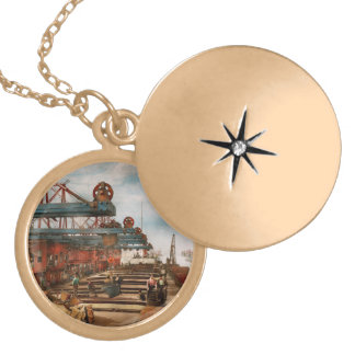 Trade - It's Iron ore it's nothing! 1900 Locket Necklace
