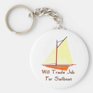 Trade Job For Sailboat Keychain