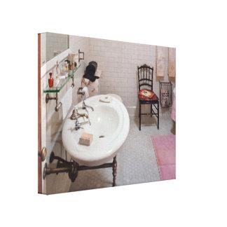 Trade - Plumber - The Bathroom Canvas Print