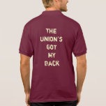 Trade Union polo shirt