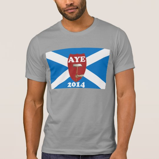 Trade Unionist Scottish Independence Flag T-Shirt