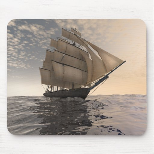 Trade winds mouse pad