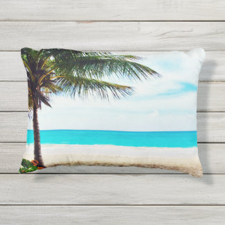 "Trade Winds Tropical Outdoor Pillow 16"" x 12"""