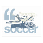 Trade Zone Soccer T-shirts and Gifts Postcards