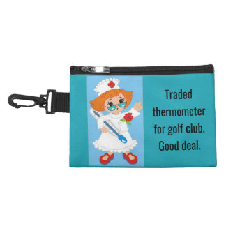 Traded Thermometer for Golf Club - Good Deal Accessory Bag