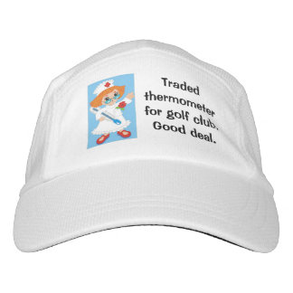 Traded Thermometer for Golf Club - Good Deal Headsweats Hat