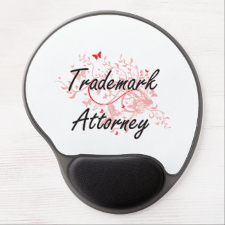 Trademark Attorney Artistic Job Design with Butter Gel Mouse Pad
