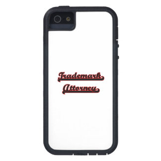 Trademark Attorney Classic Job Design iPhone 5 Case