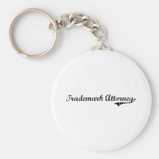 Trademark Attorney Professional Job Key Chains