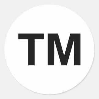 Trademark Classic Round Sticker