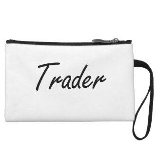 Trader Artistic Job Design Wristlet Clutches