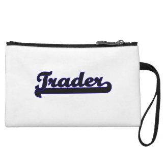 Trader Classic Job Design Wristlet Purses