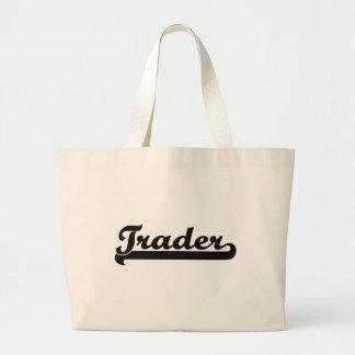 Trader Classic Job Design Large Tote Bag