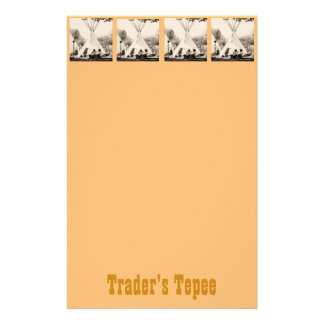 Trader's Tepee Personalized Stationery