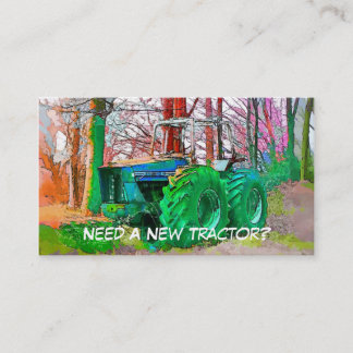 TRADES AGRICULTURE BUSINESS CARD