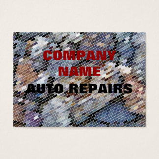 TRADES, AUTO REPAIRS BUSINESS CARD