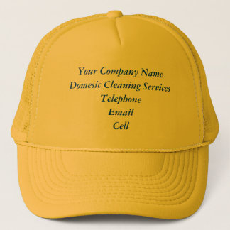 TRADES - DOMESTIC CLEANING SERVICES UK TRUCKER HAT
