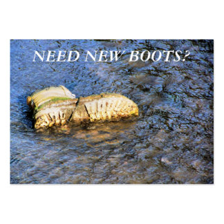 TRADES NEW BOOTS UK BUSINESS CARDS