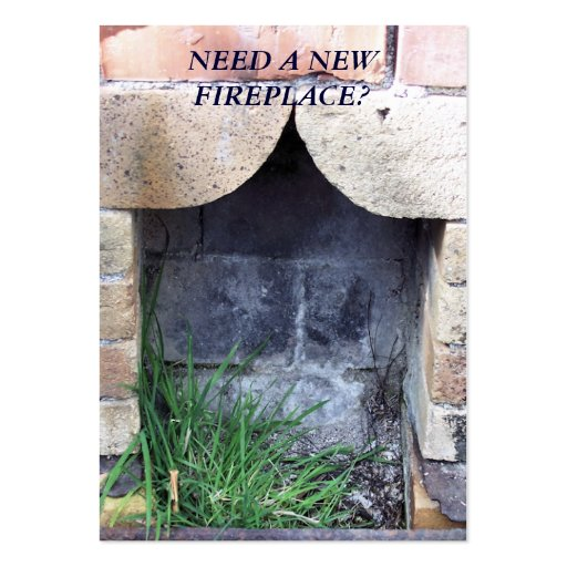 TRADES. NEW FIREPLACES. BUSINESS CARDS