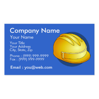 Trades of the building business card