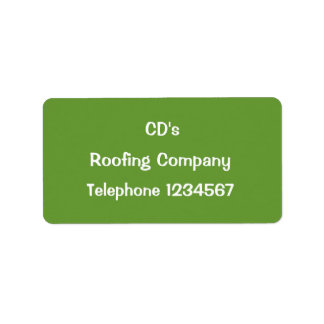 TRADES, ROOFING LABEL