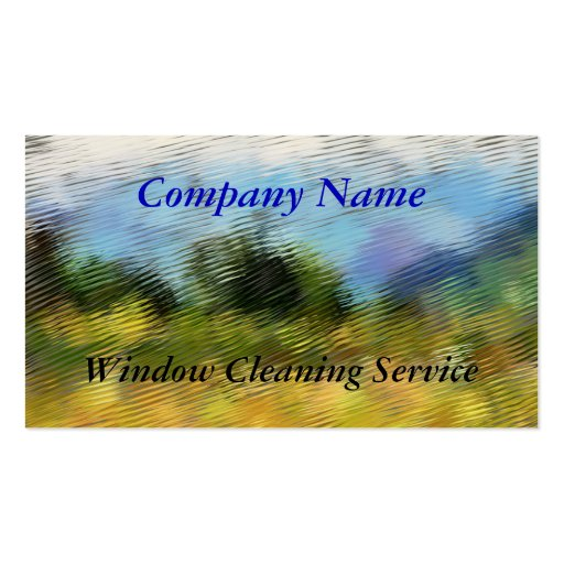 Trades window cleaning business card zazzle for Window cleaning business cards