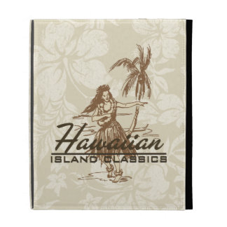 Tradewinds Hawaiian Hula Girl iPad Folio iPad Cases