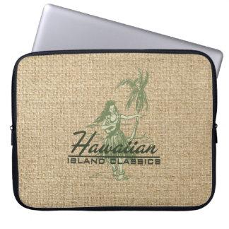 Tradewinds Hawaiian Hula Girl Neoprene Wetsuit Laptop Computer Sleeve