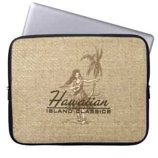 Tradewinds Hawaiian Hula Girl Neoprene Wetsuit Laptop Computer Sleeves