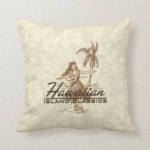 Decorative Pillows To The Trade : Tradewinds Hawaiian Island Decorative Pillows Zazzle