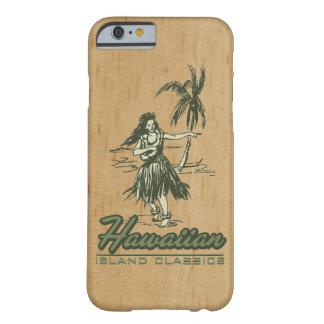 Tradewinds Hawaiian Island Hula Girl Faux Wood Barely There iPhone 6 Case