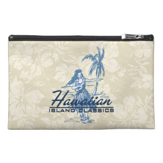 Tradewinds Hawaiian Island Hula Girl Travel Accessory Bag