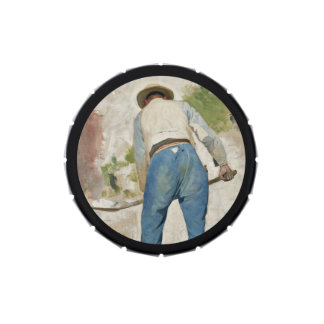 Tradgardsmastaren Man Shoveling Soil Jelly Belly Tins