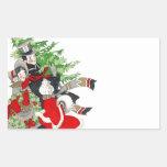 Tradición del árbol de navidad del Victorian del Rectangular Altavoz