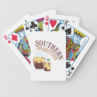 Tradición meridional baraja de cartas