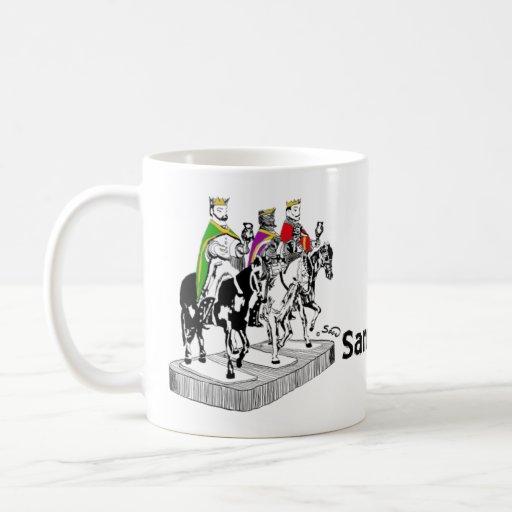 Tradiciones PR Santos de Palo Classic White Coffee Mug