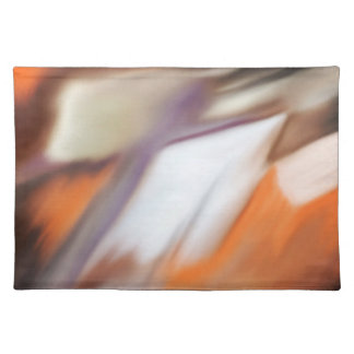 """""""Trading"""" abstract painting Cloth Placemat"""