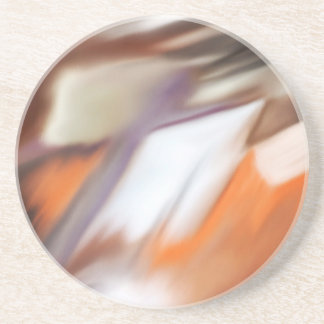 """""""Trading"""" abstract painting Coaster"""