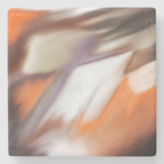 """""""Trading"""" abstract painting Stone Coaster"""