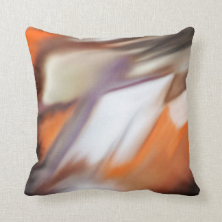 """Trading"" abstract painting Throw Pillow"