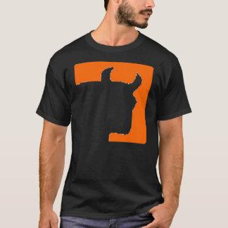 Trading Animal Bull Head Logo - Front/ URL on back T-Shirt