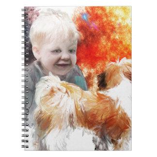 trading childhood wonder notebook