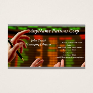 Trading Firm Business Card