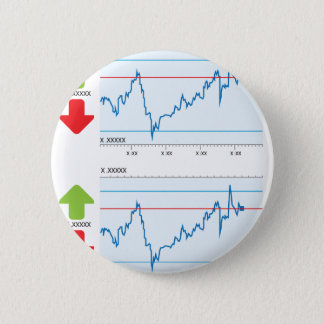 Trading graph pinback button