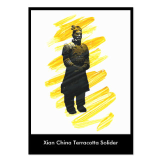 Trading Museum Business Terracotta Warrior Large Business Cards (Pack Of 100)