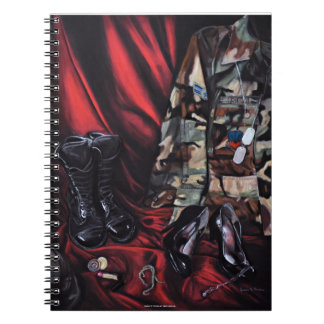 Trading My Heels for Combat Boots Notebook