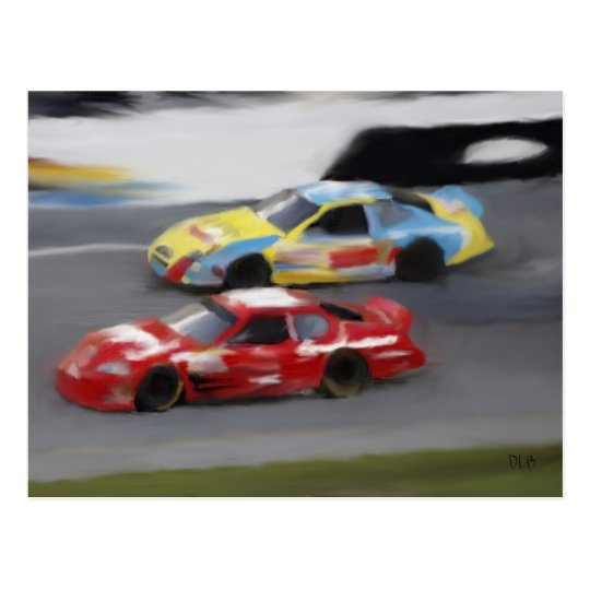 Trading Paint Postcards